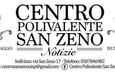 Il giornalino di Maggio del Centro San Zeno presenta la nostra associazione